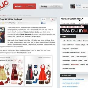 """InMuc """"Dirndl Guide mit Stil und Geschmack"""" - 22.Juli 2011"""