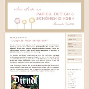 """Daniela Kratzer """"O'zapft is oder Dirndl Zeit"""" - 21. September 2011"""