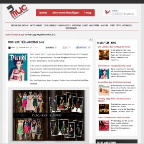 """InMuc """"Dirndl Guide F/S 2012"""" - April 2012"""